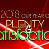 Our Year of Plenty and Satisfaction